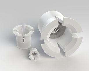 Inserti ad espansione in nylon